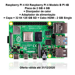 Save $20 with coupon for Raspberry Pi 4 Kit